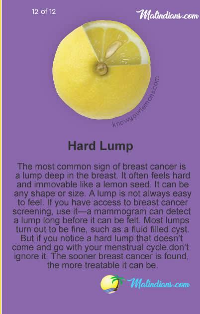 hard lump