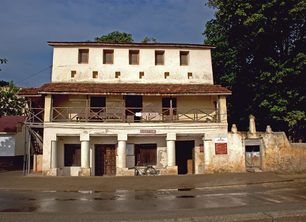 House of Columns exterior - malindi museums