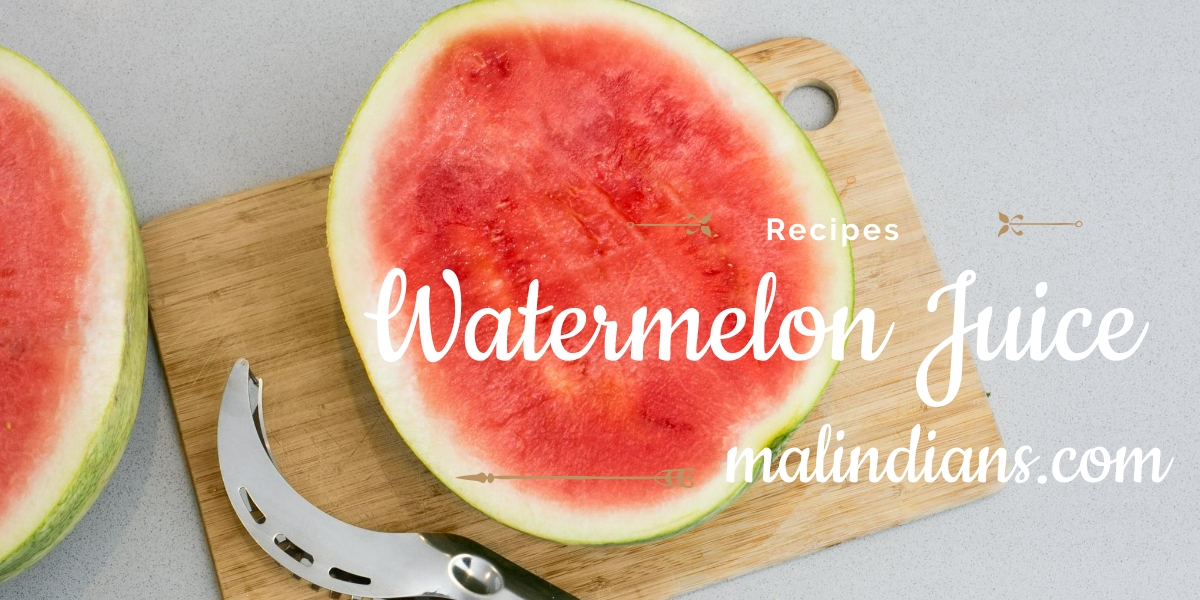 juice ya watermelon - malindians