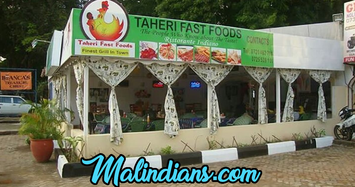 Malindi cafes on Malindians