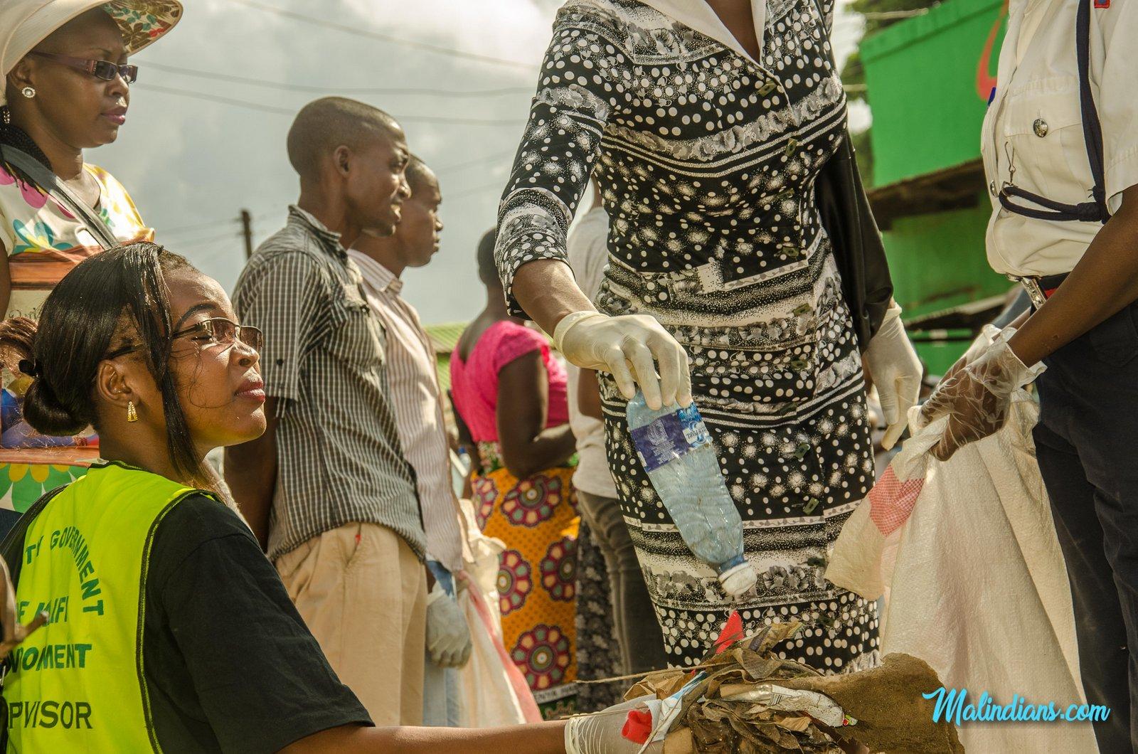 Malindi Town Clean up - Kisumu Ndogo-36