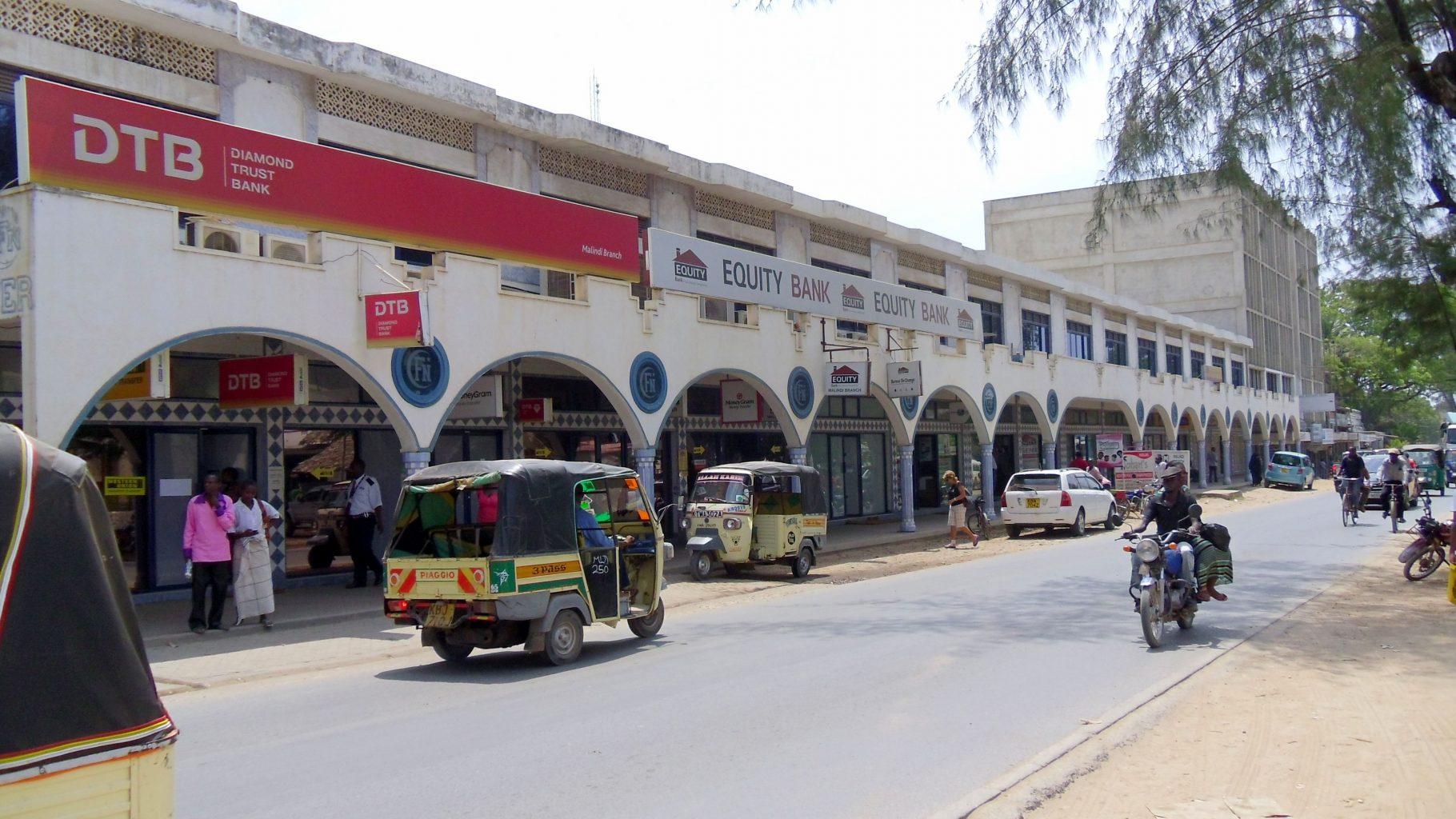 diamond trust bank - dtb and equity bank malindi on lamu road
