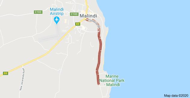 strada Casuarina Casuarina Road Malindi Neighbourhoods 2 - Casuarina Road